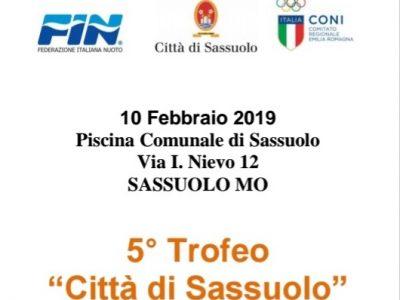 5° Trofeo Città di Sassuolo