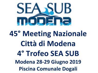 45° Meeting Nazionale Città di Modena